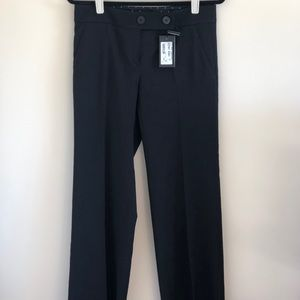 Armani black wide leg trousers. NWT SZ 8